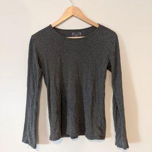 Old Navy Gray Long Sleeve T-shirt